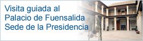 Visita guiada al Palacio de Fuensalida, sede de la Presidencia