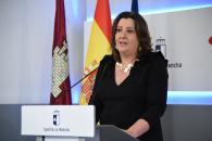 Rueda de prensa de la reunión con los representantes regionales de los sindicatos y la patronal(3 de abril) (Economía))