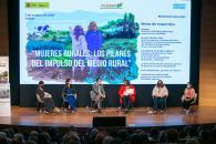 Mesa de expertos dentro de la jornada 'Mujeres rurales: los pilares del impulso del medio rural'