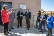 Inauguración del gimnasio del Colegio Público de Arcas