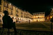 Inauguración de la iluminación de la Plaza Mayor de Sigüenza