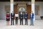El presidente regional comparte experiencias comunes de los sectores agroalimentario y turístico con la presidenta de los Países del Loira