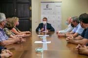 Reunión con la nueva junta directiva de la Asociación ASPRONA
