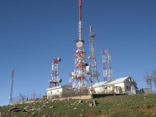 Imagen ilustrativa de una antena