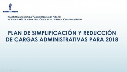 Foto Plan simplificación y reducción de cargas 2018
