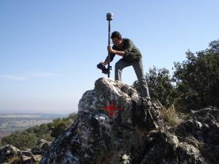 Recuperación coordenadas de mojón en Castilla-La Mancha