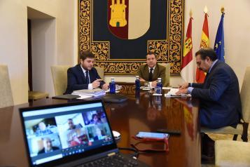 Videoconferencia con representantes del sector del transporte