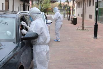 Pruebas PCR en la Gerencia de Atención Integrada de Albacete