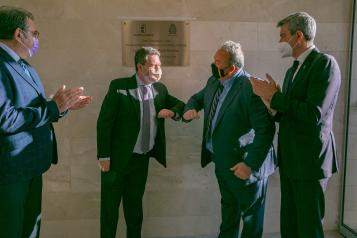 Inauguración del Consultorio Local de Almorox (Toledo)