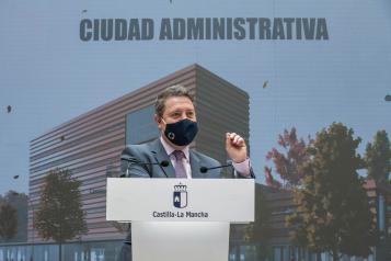 Presentación del proyecto de la Ciudad Administrativa de Ciudad Real