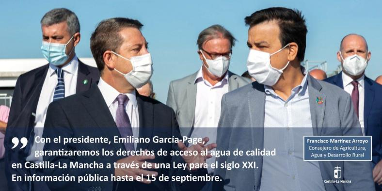 Anteproyecto de Ley de Aguas de Castilla-La Mancha