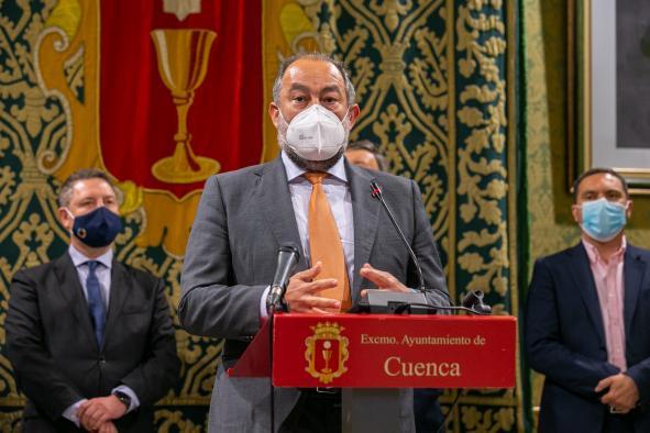 Rueda de prensa sobre la llegada del Centro de Estudios Penitenciarios a Cuenca