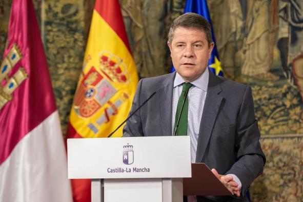 El presidente de Castilla-La Mancha presenta el Plan de Empleo 2021