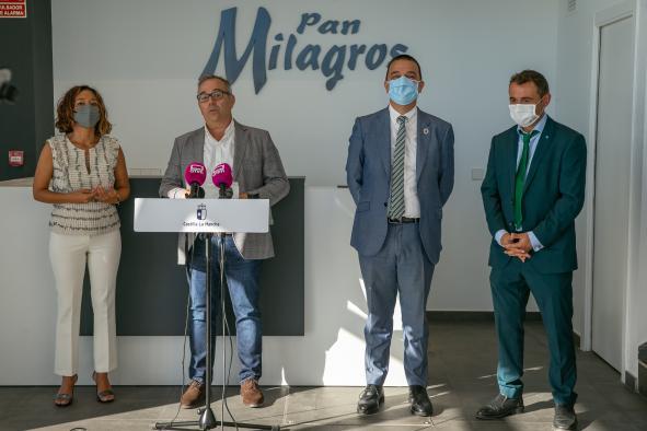 Visita a la panificadora Pan Milagros
