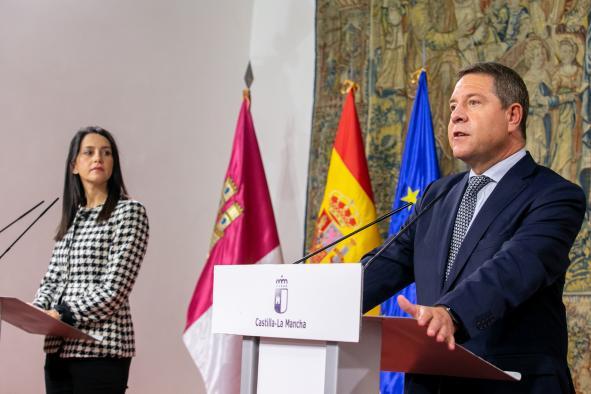 Reunión con la presidenta de Ciudadanos