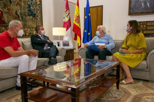 Recepción de los miembros de la Fundación Mariano San Félix