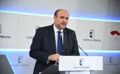 Videoconferencia con los representantes de los partidos políticos de las Cortes de Castilla-La Mancha (Vicepresidente)