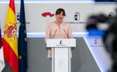 Videoconferencia con representantes de la patronal y de los sindicatos de la región (Portavoz)