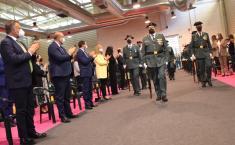 Martínez Guijarro muestra el respaldo del Gobierno de Castilla-La Mancha a los hombres y mujeres de la Guardia Civil